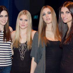 Models pre-show