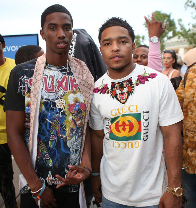 Christian Combs and Justin Combs
