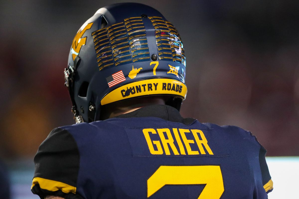 new concept 6cdfa f3f98 NFL draft: Is Will Grier's aggression a fit for the Patriots ...