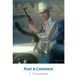 Roberto Miramontes Roman's MySpace page before he was arrested in January of 2010. Roman was acquitted last month in the fatal shooting of a Millard County sheriff's deputy Josie Greathouse Fox, but was convicted of possession of a dangerous weaon by a restricted person and tampering with evidence.