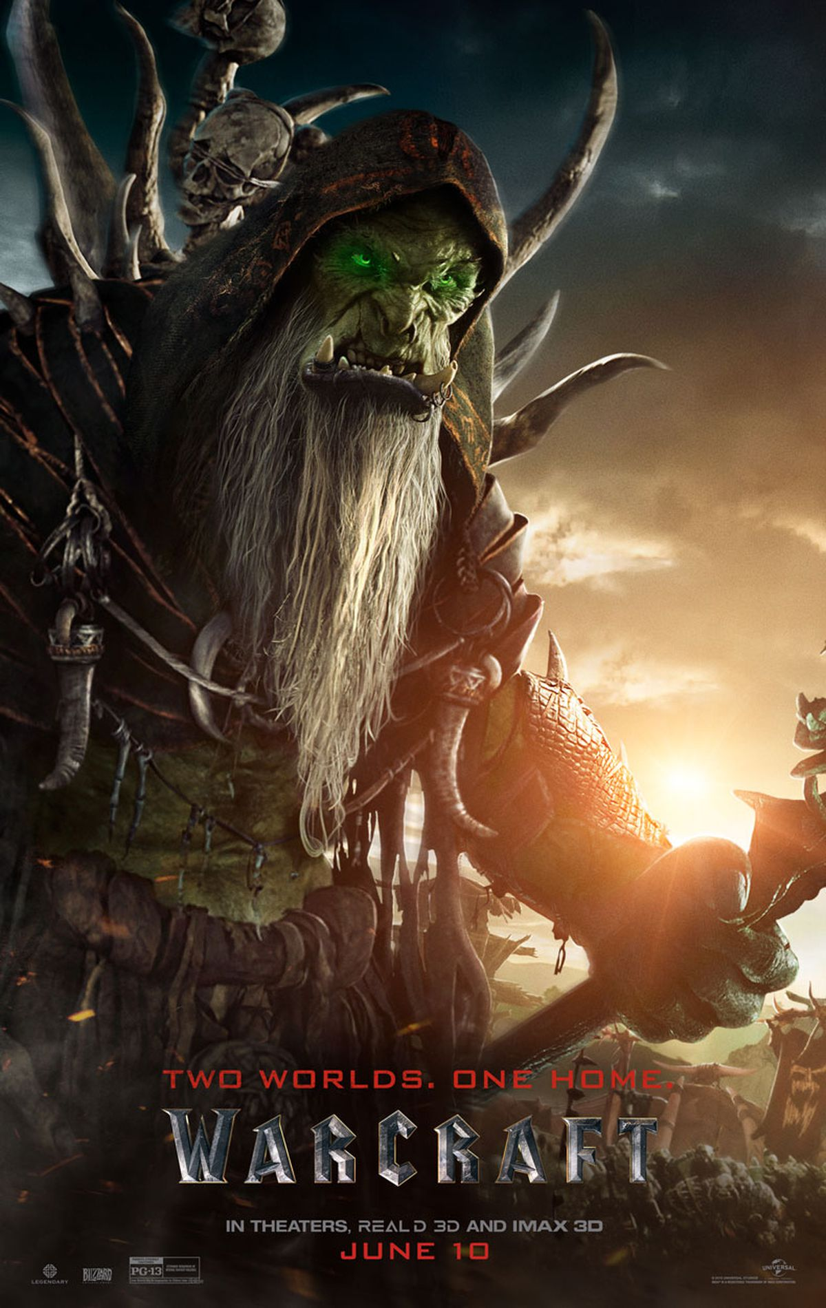 New Warcraft movie posters offer a closer look at its orcs