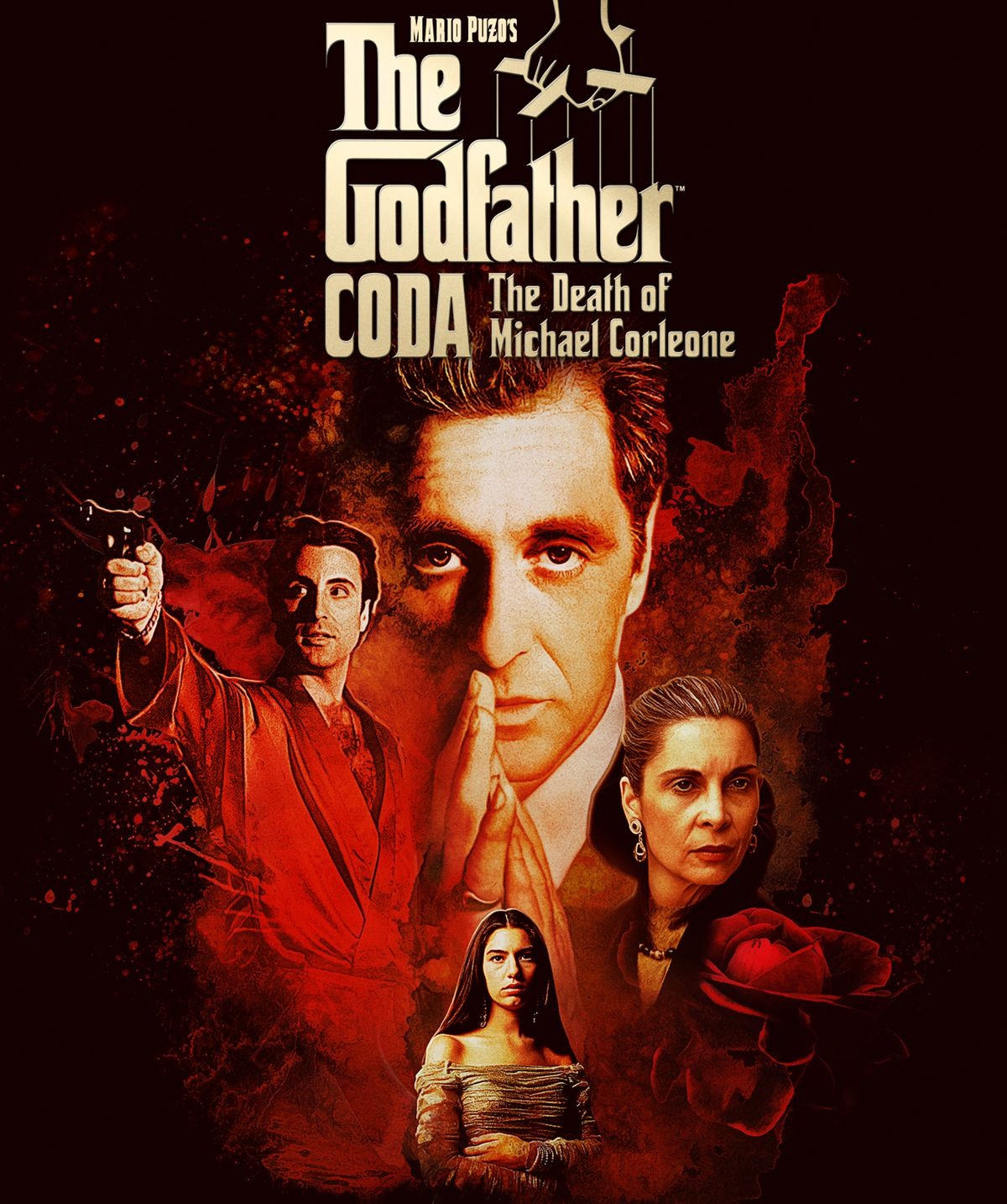 The Godfather 3 re-edit aka The Godfather, Coda: The Death of Michael Corleone poster