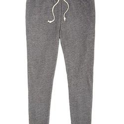 """<strong>Bonobos</strong> Couch Surfers in Grey, <a href=""""http://www.bonobos.com/grey-sweatpants-for-men"""">$88</a>"""