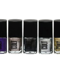 """Cult Cosmetics Heavy Metals nail art kit, <a href=""""https://www.cultcosmetics.com/products/heavy-metals"""">$21</a> for set of five polishes"""