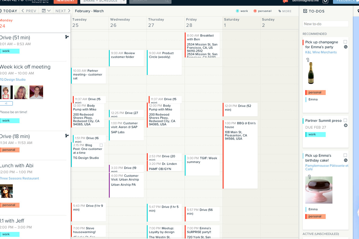 Magneto: A Promising Calendar App in Need of Some Work