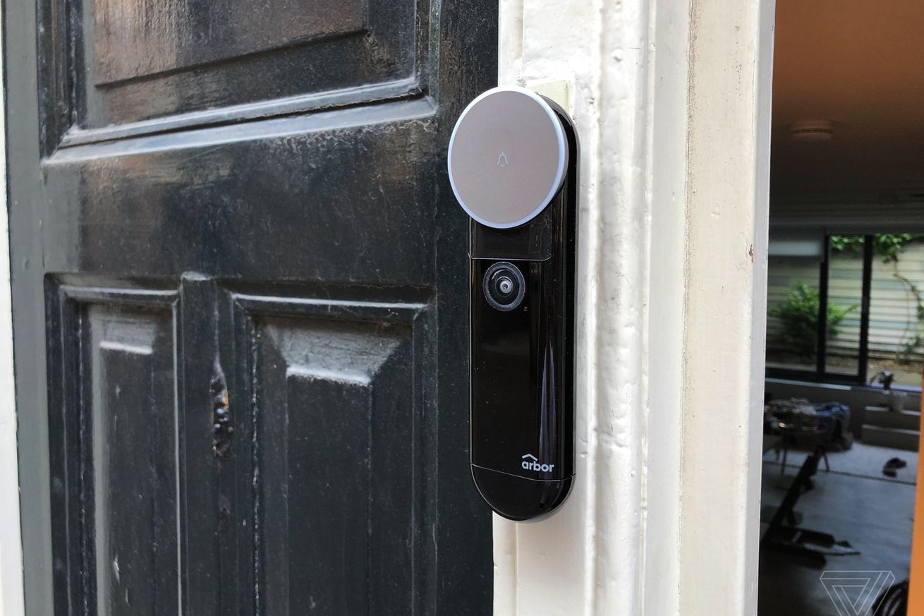 the arbor video doorbell offers more than ring for less