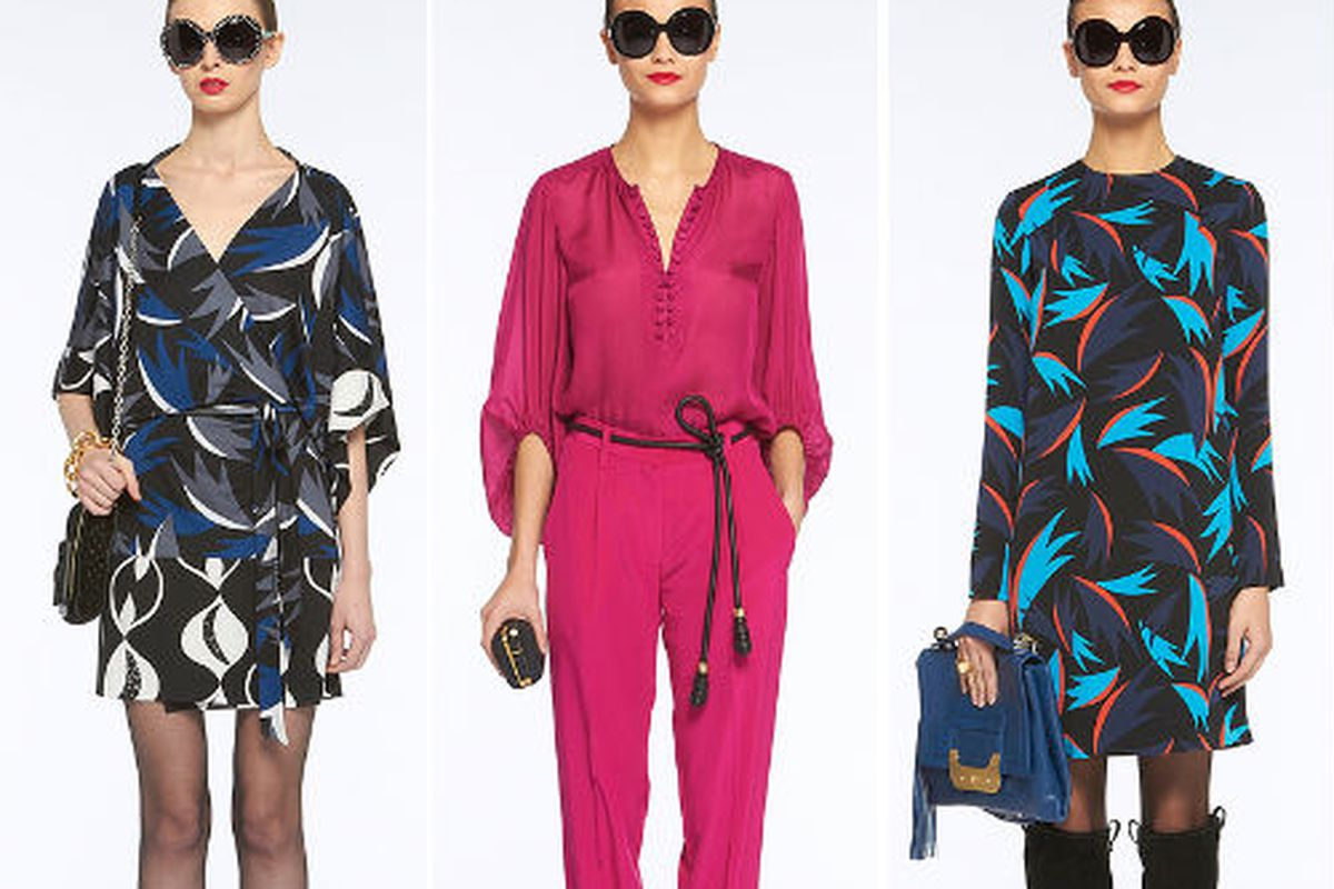 Fall looks from DVF