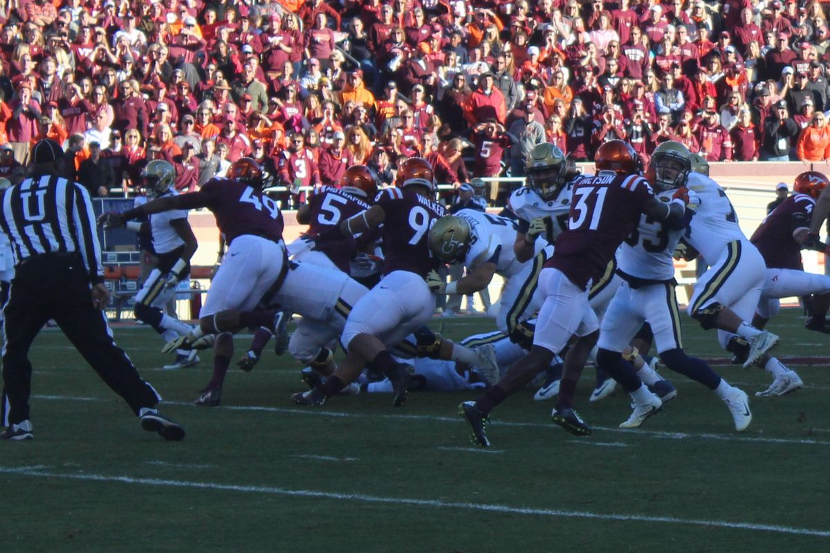 The Battle of The ACC Techs: Hokies vs  Yellow Jackets - Gobbler Country