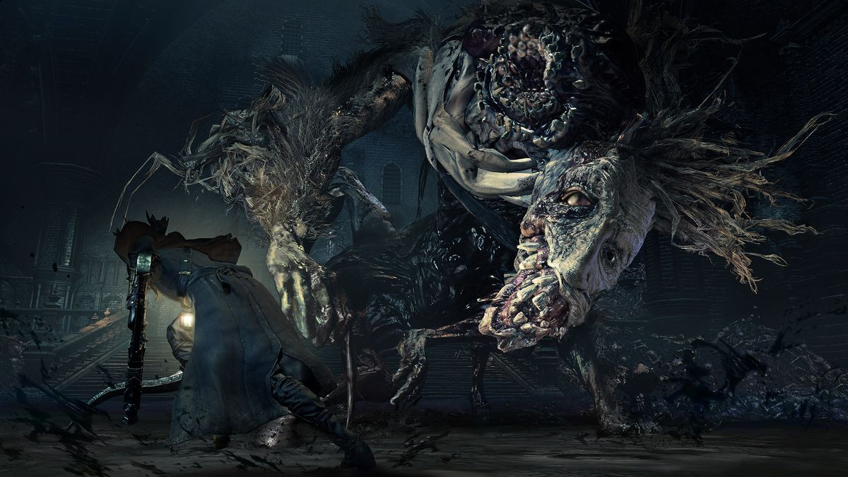hands on with bloodborne the old hunters new tricks polygon