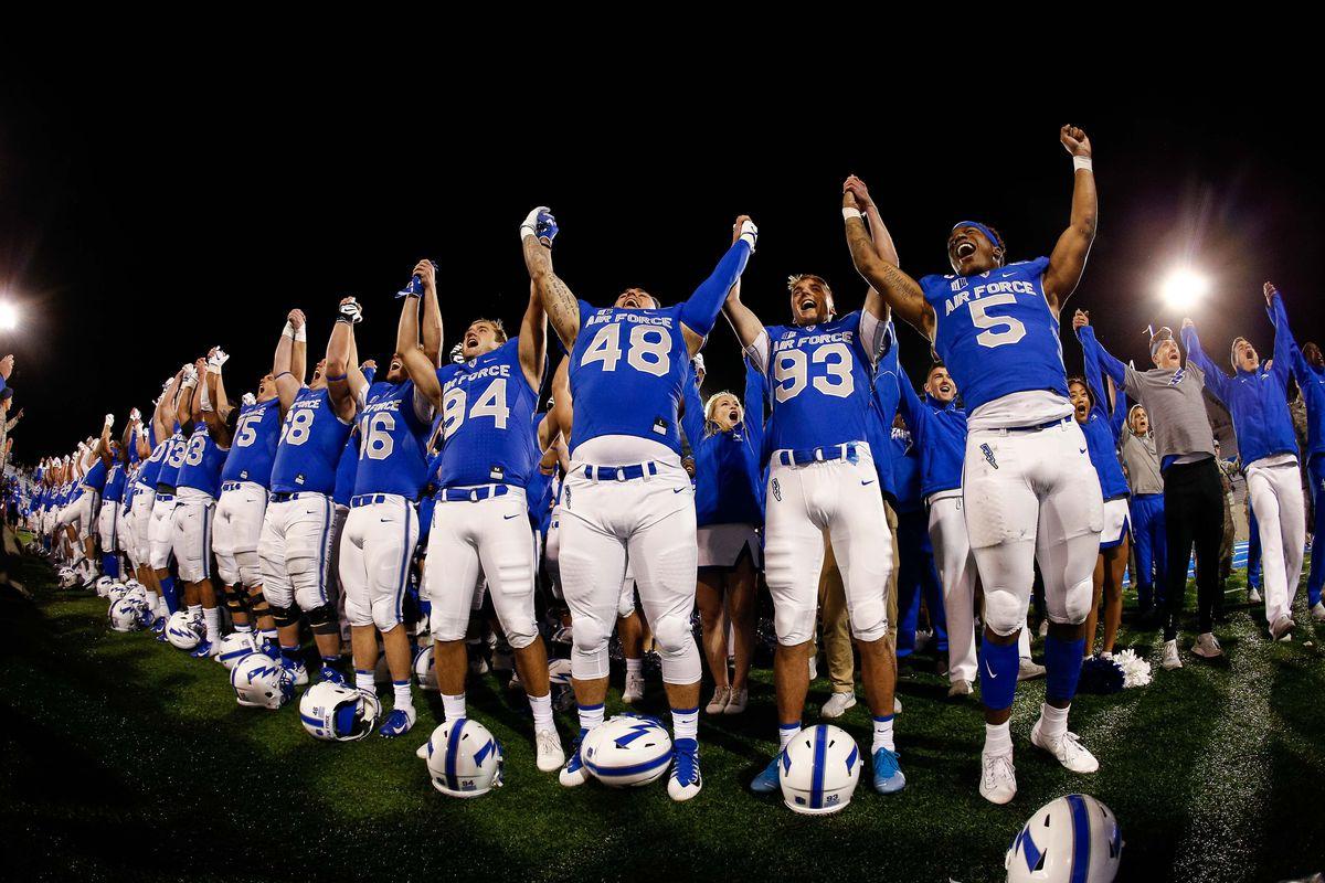 NCAA Football: San Jose State at Air Force