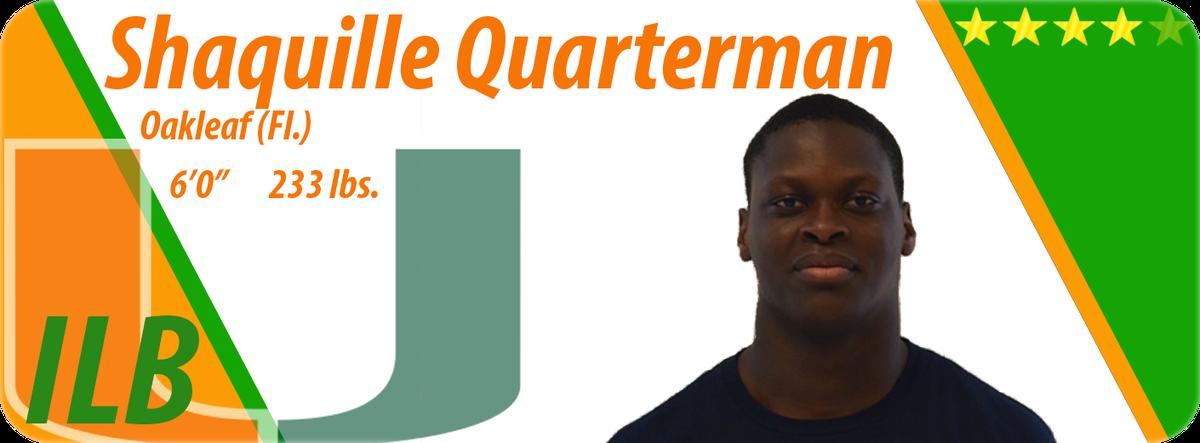 Quarterman card