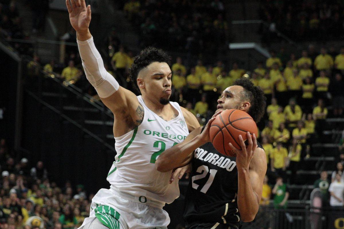 NCAA Basketball: Colorado at Oregon