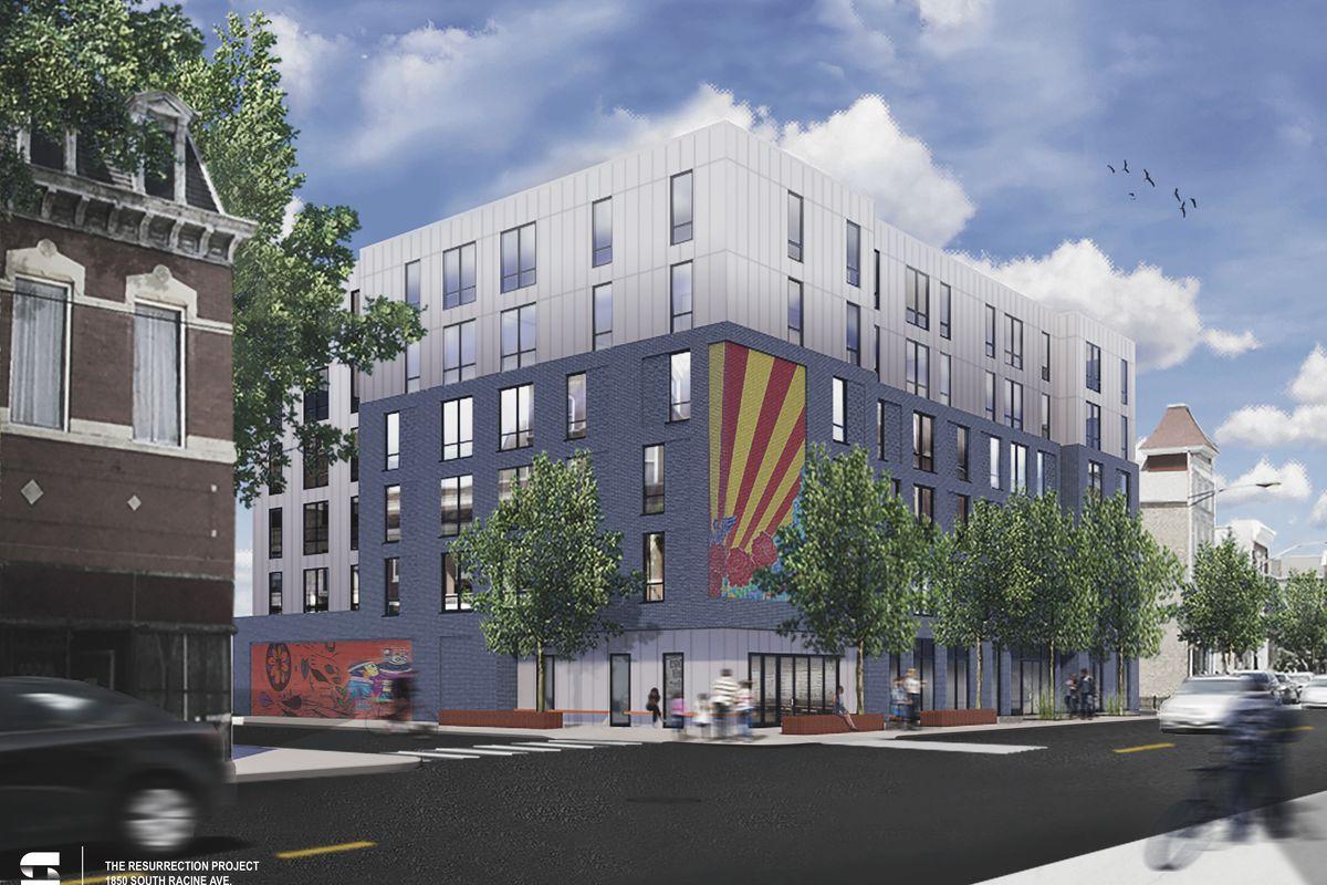 Affordable Apartment Development Planned For Pilsen Corner