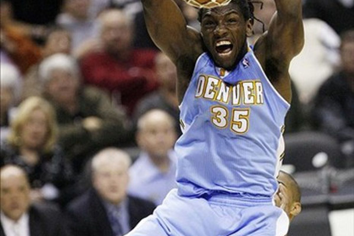 Kenneth Faried. Do this all night