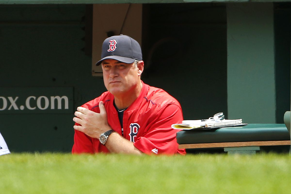Red Sox manager John Farrell
