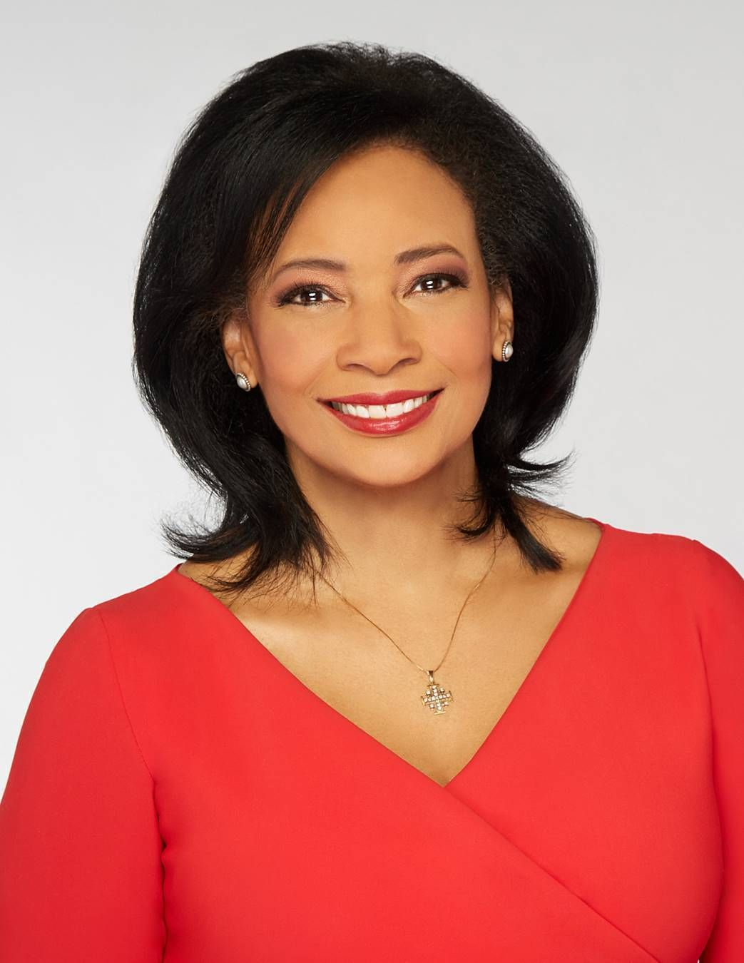 Fox News Channel religion correspondent Lauren Green is pictured in this 2021 publicity photo.