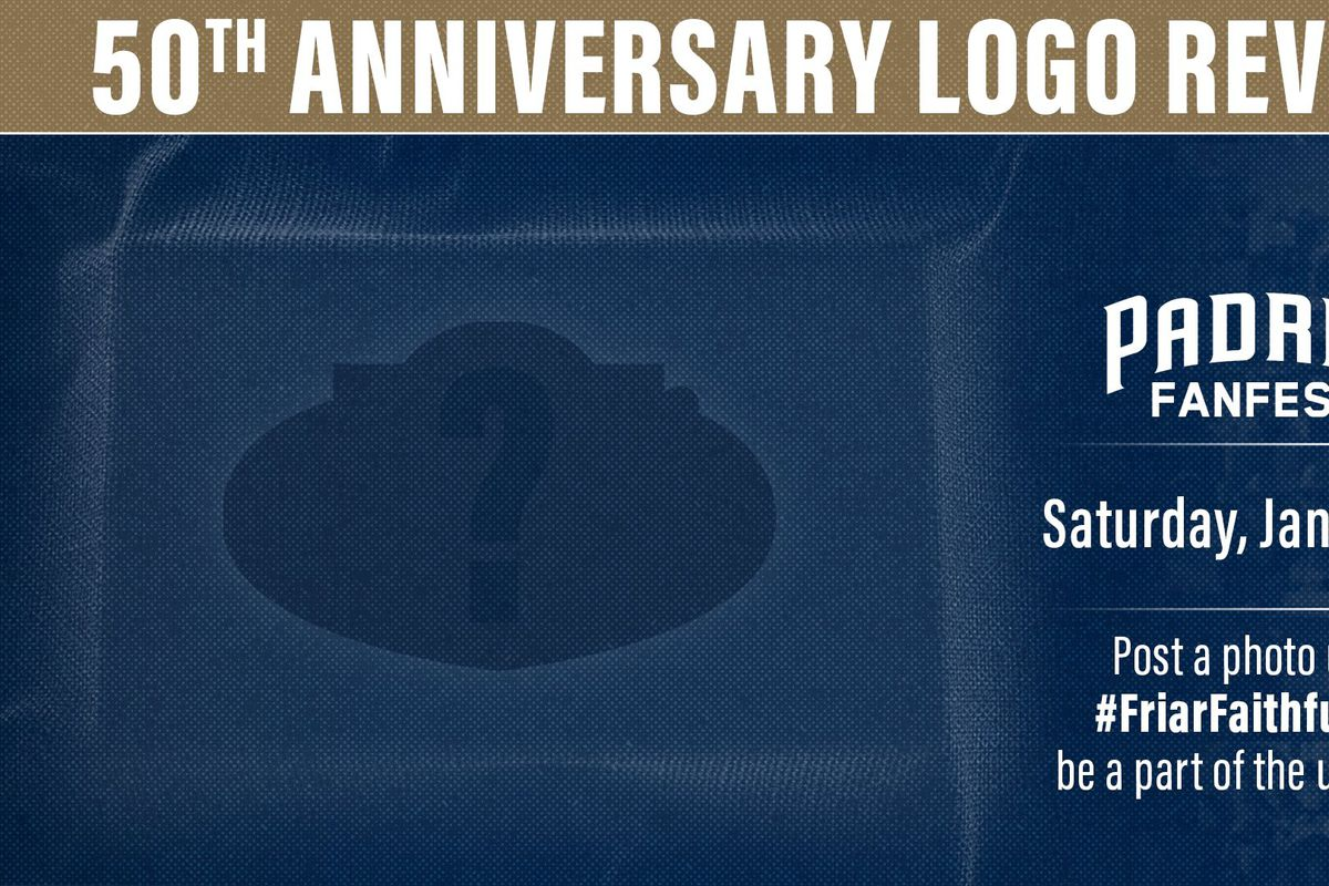 Padres to reveal 50th Anniversary logo at FanFest, leaked