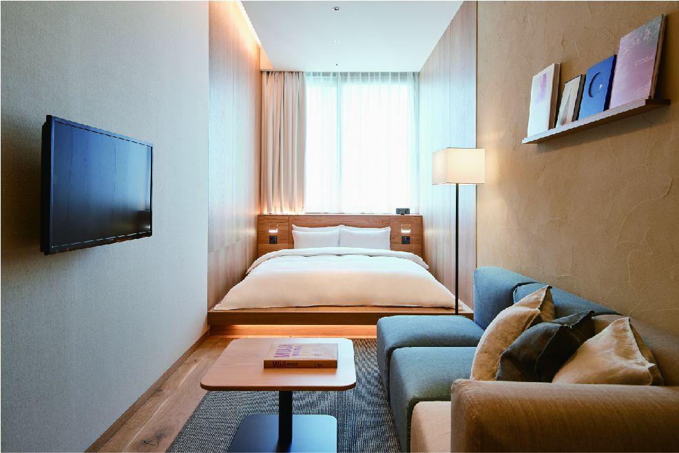 simple hotel room
