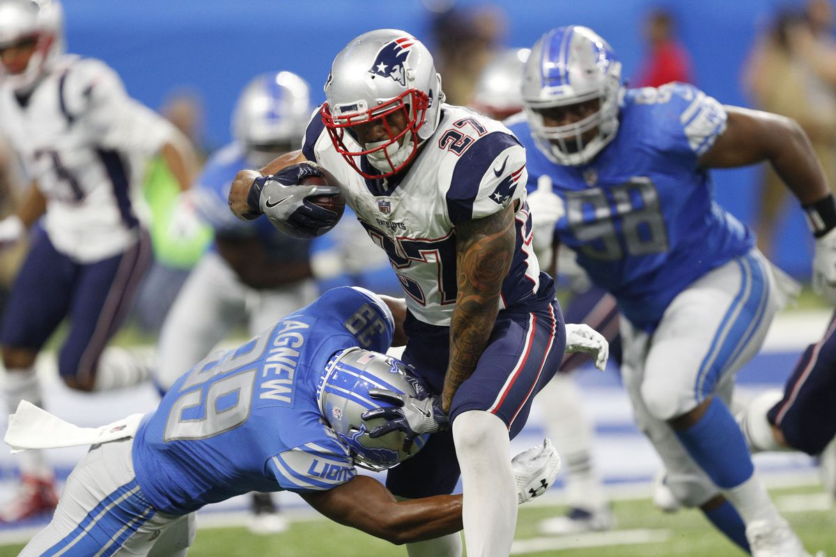NFL Sunday Night Football: New England Patriots @ Detroit ...