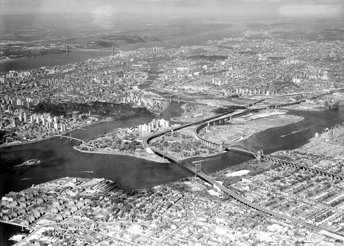 New York highways and bridges from 1963