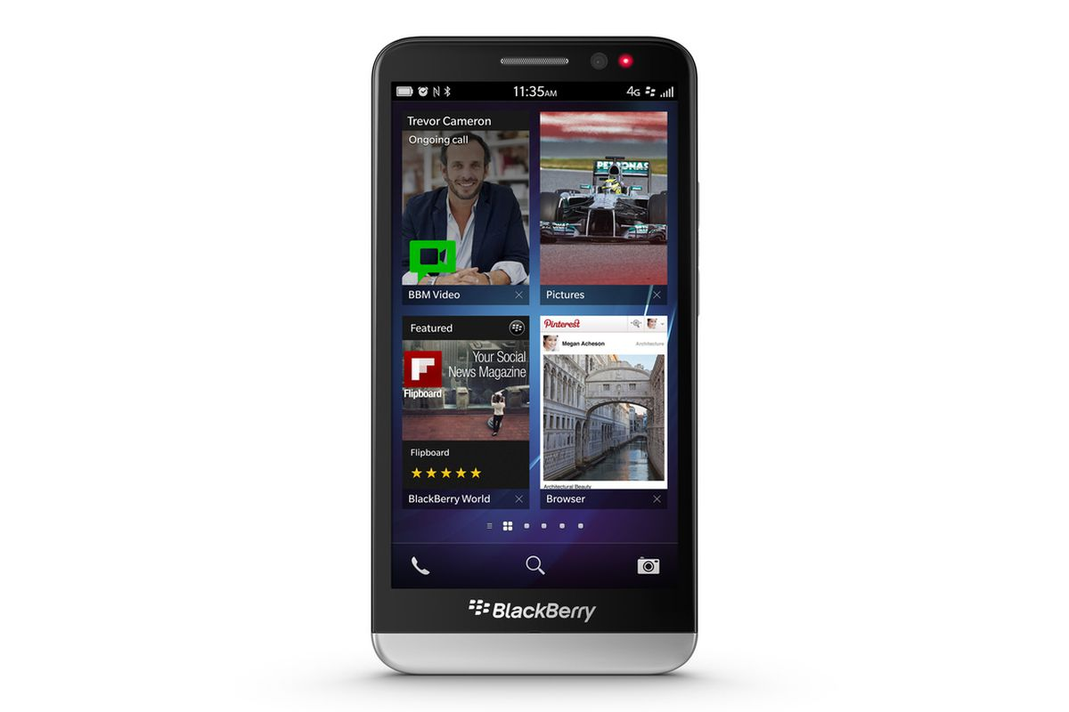 BlackBerry goes big with the 5-inch Z30 smartphone - The Verge
