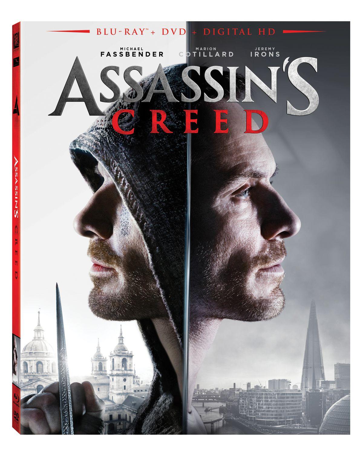 Assassin's Creed Blu-ray box art