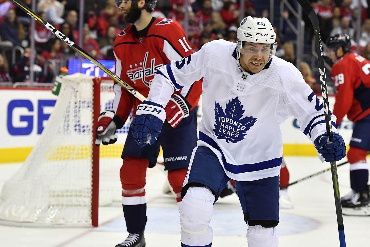 NHL: Toronto Maple Leafs at Washington Capitals