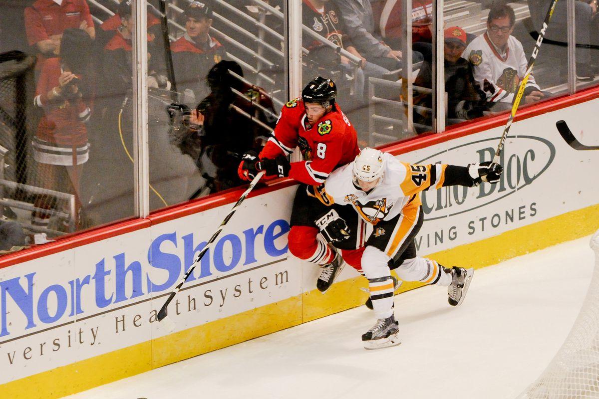 NHL: Preseason-Pittsburgh Penguins at Chicago Blackhawks