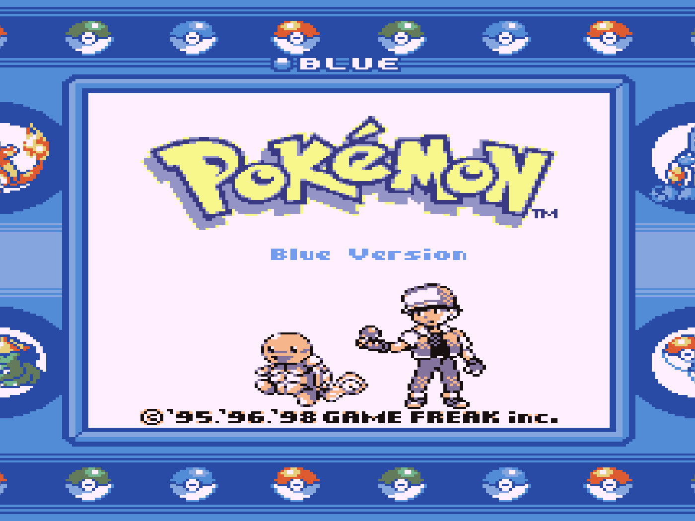 Pokemon Game Boy Classics Getting Special Edition 2ds In Japan
