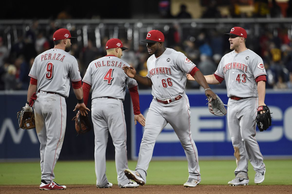Image result for reds vs padres
