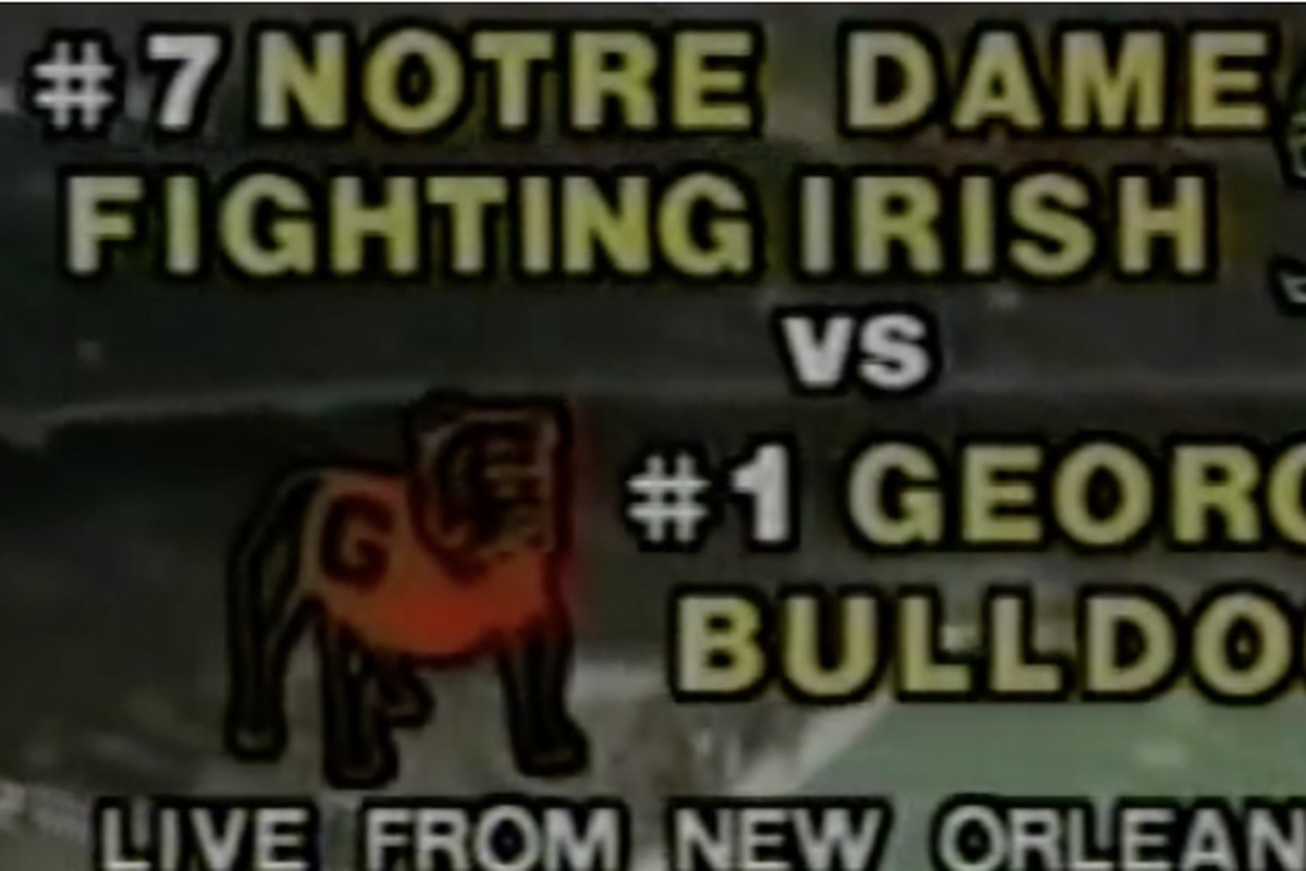 Georgia vs  Notre Dame history: When UGA's 1980 title team