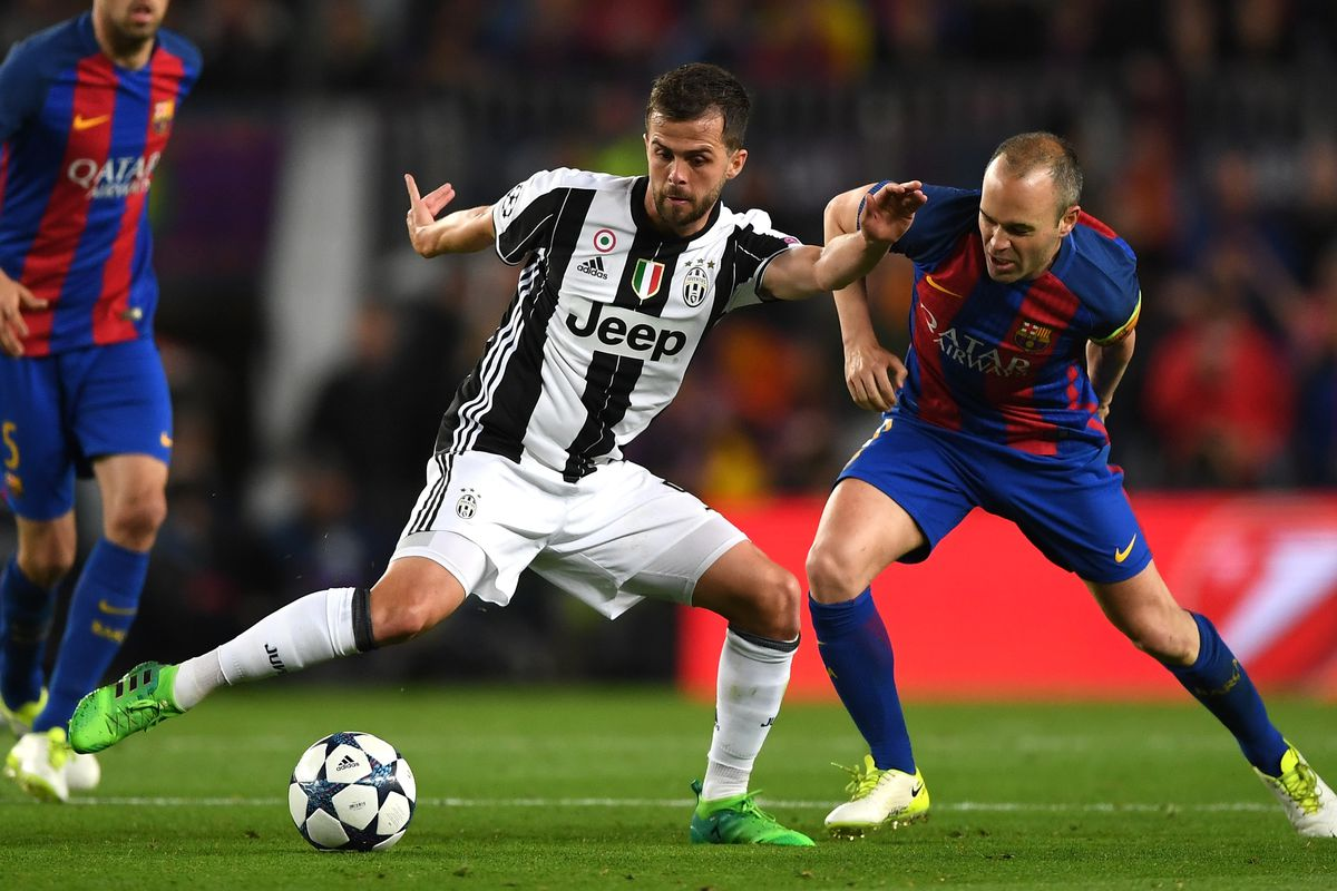 Champions League Preview Juventus Vs Barcelona Black White Read All Over