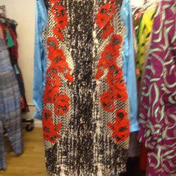 Shift dress (sample), $50
