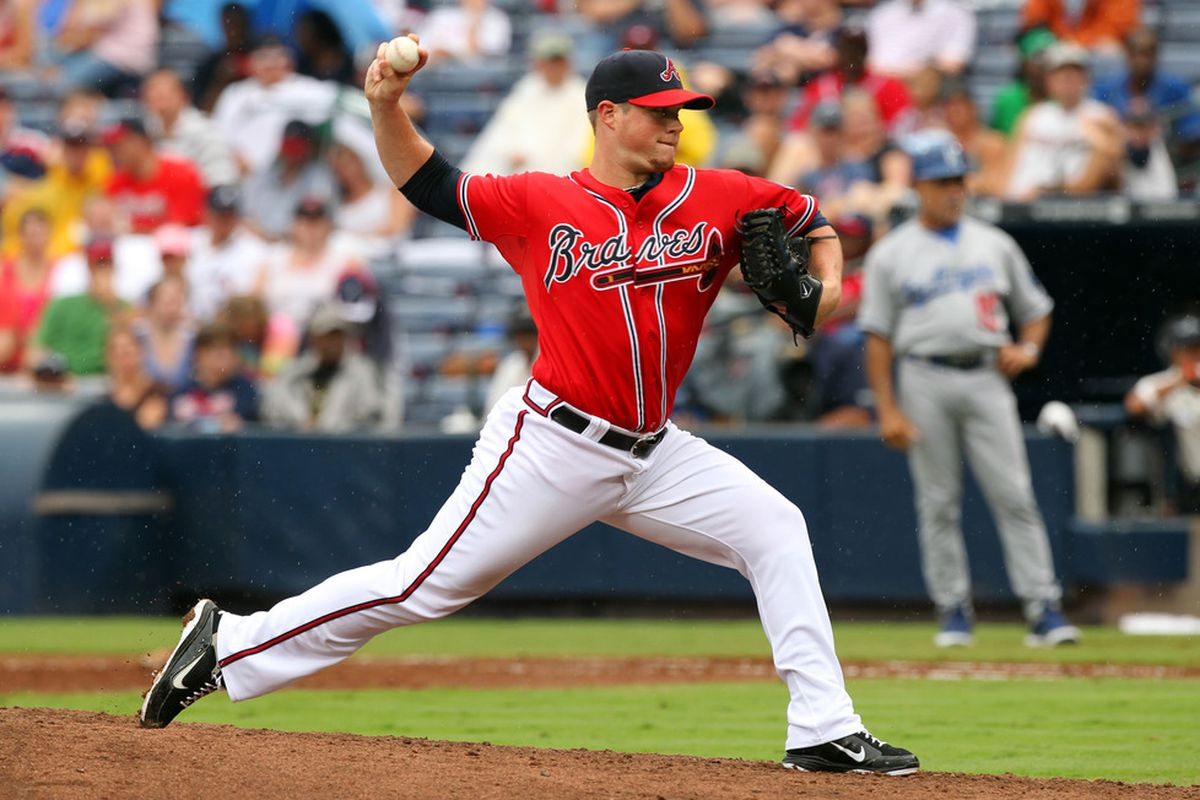 Craig Kimbrel received 22 of 28 first-place votes in the SB Nation National League Rookie of the Year Award.
