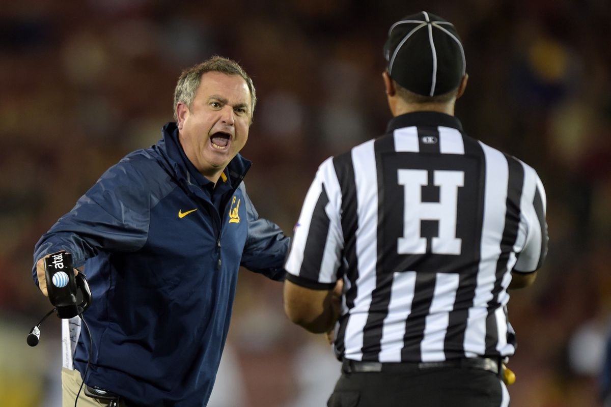 I feel the same way about Pac-12 officials