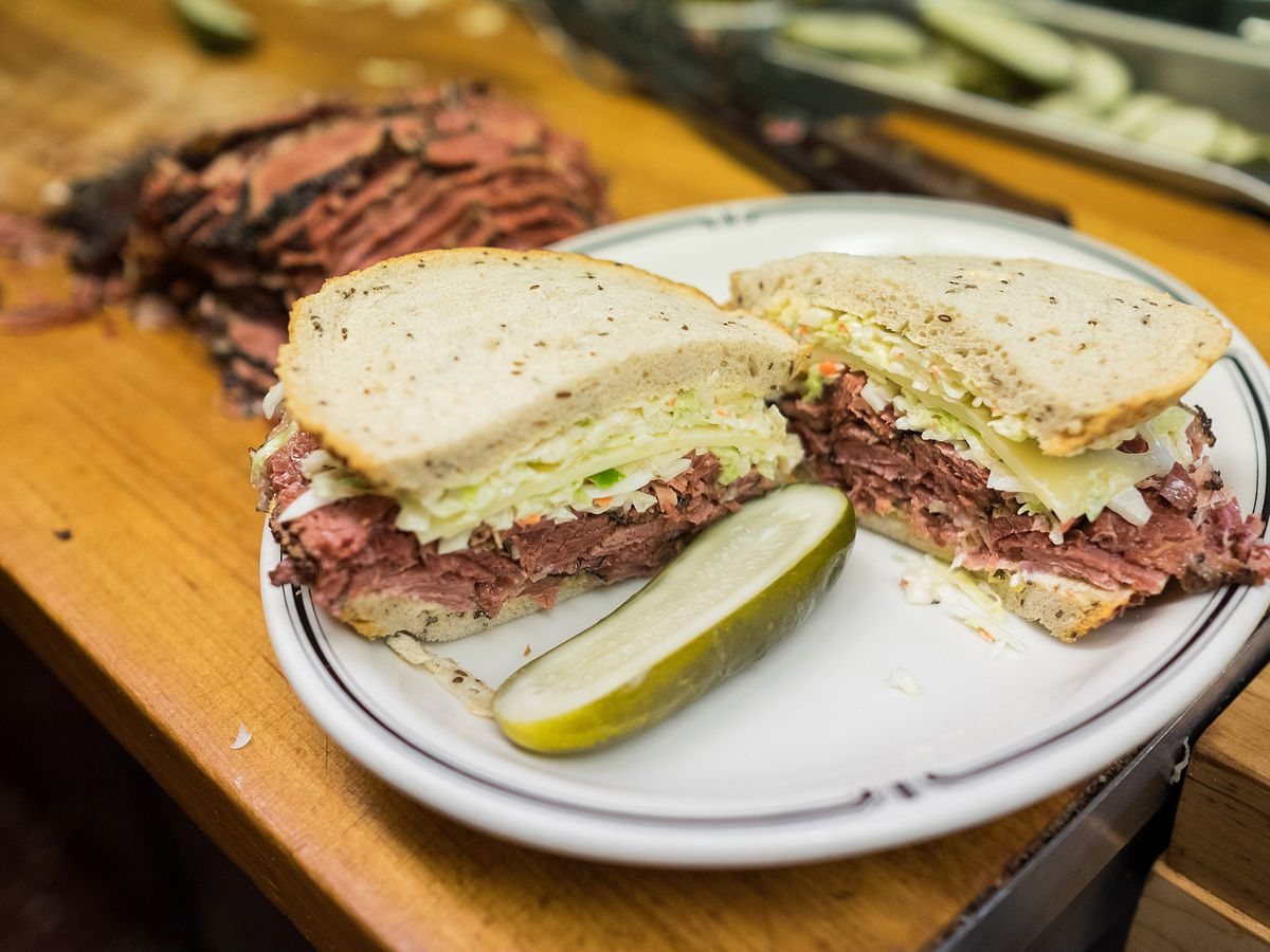 #19 sandwich at Langer's Deli