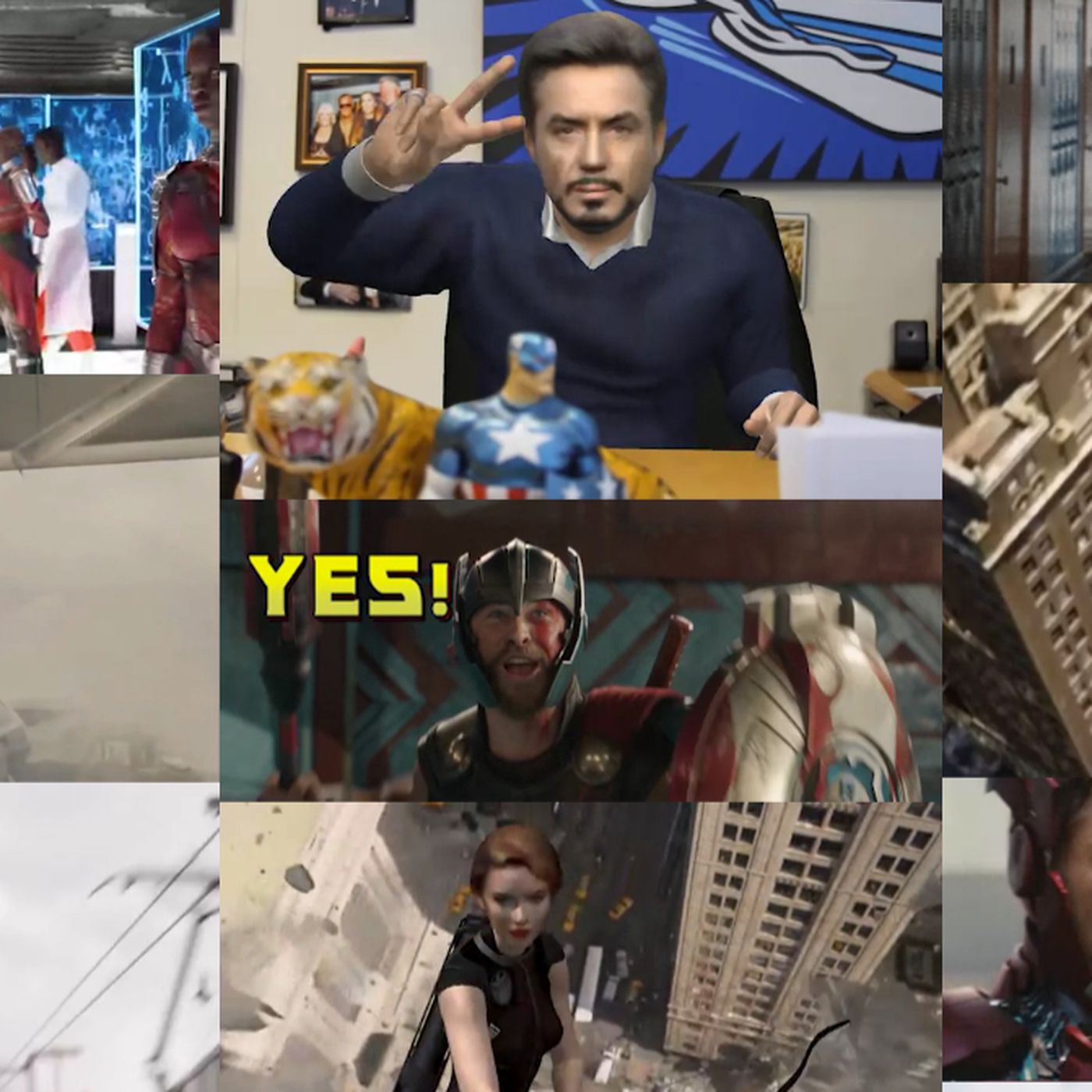 You can become an Avenger with this GIF maker - The Verge