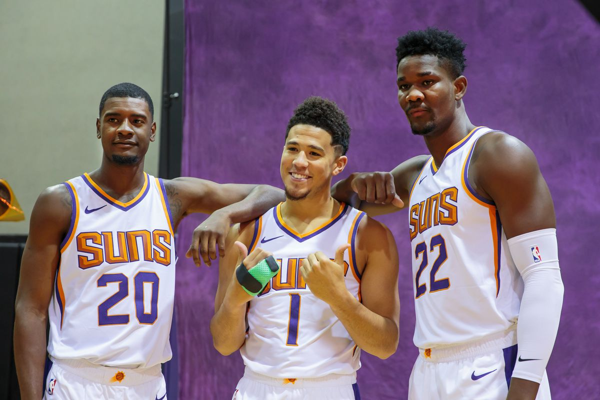 size 40 c5e49 038f3 Phoenix Suns preview new-look roster and scheme at open ...