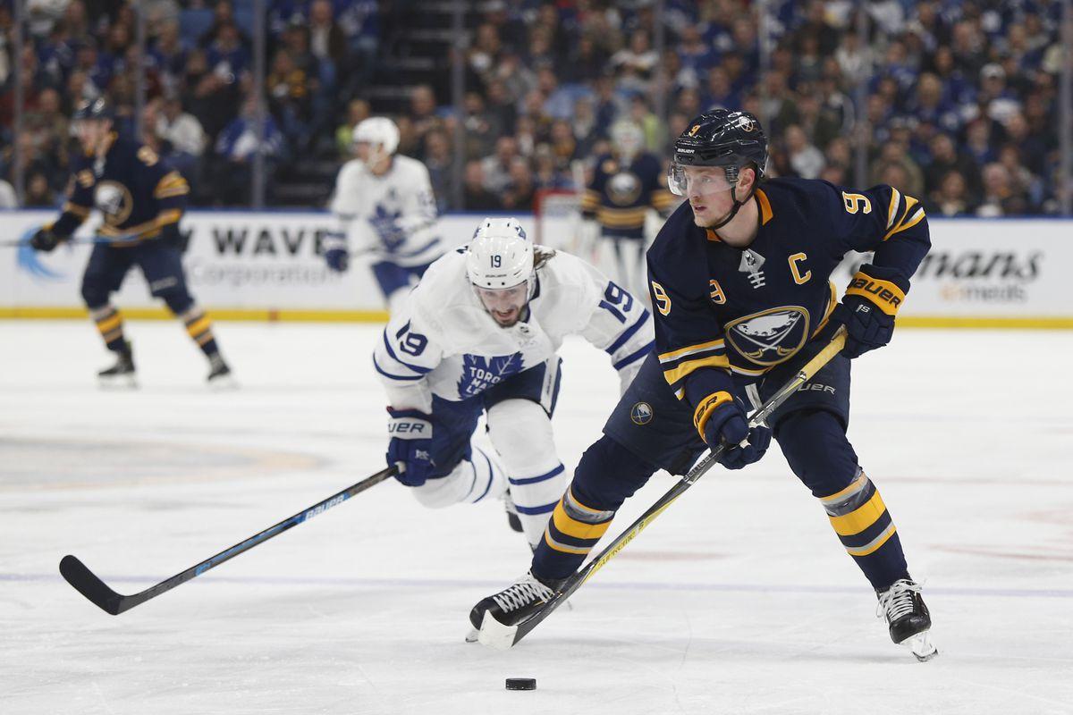 NHL: Toronto Maple Leafs at Buffalo Sabres