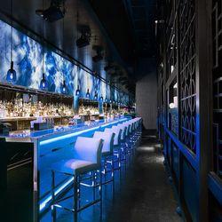 Another view of the bar at Hakkasan. Photo: Francis and Francis