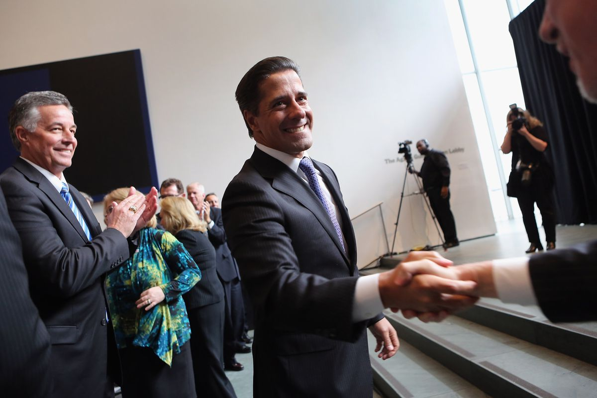 Alberto Carvalho, superintendent of Miami-Dade County Public Schools in 2012. (Photo by John Moore/Getty Images)