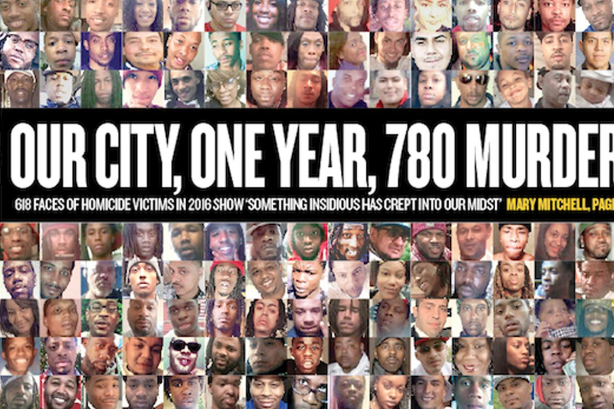 Mitchell: Our city, one year, 780 murders - Chicago Sun-Times