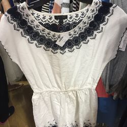 Cotton dress, $30