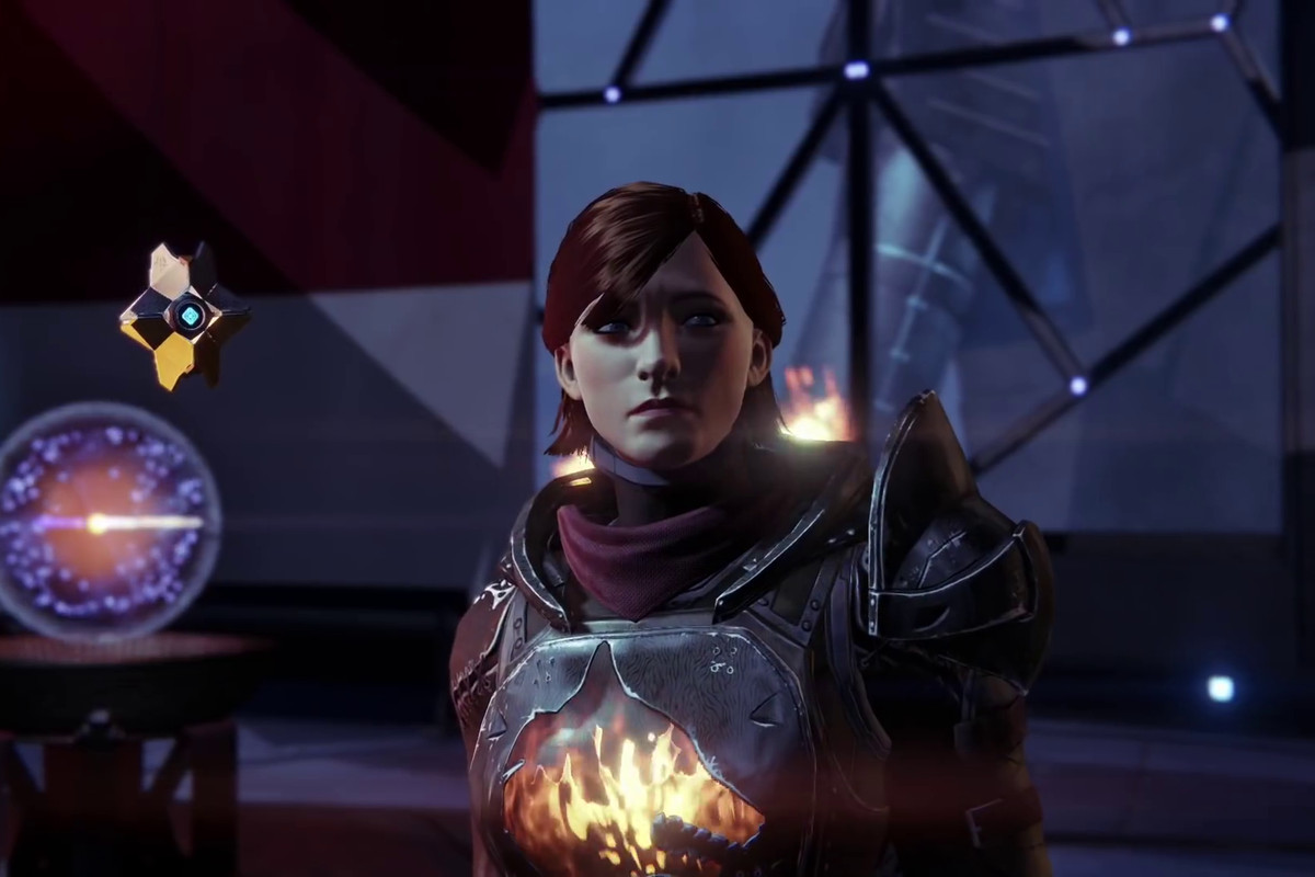 Destiny Age of Triumph update - Guardian with Ghost