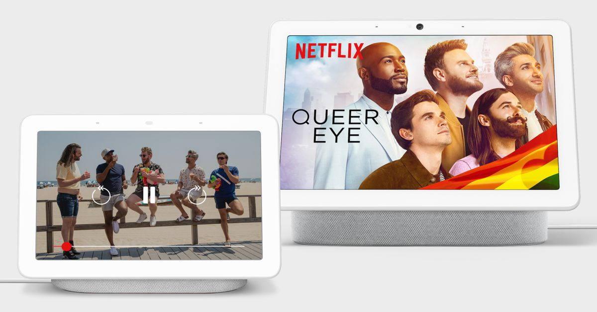 Netflix is now available on Google's Nest Hub and Nest Hub Max thumbnail