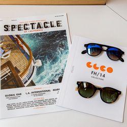 Leight's bi-annual magazine, <em>The Spectacle</em>.