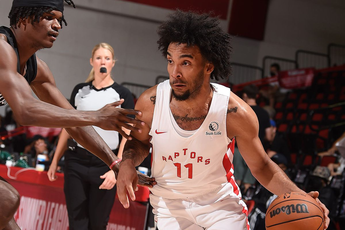 2021 Las Vegas Summer League - Brooklyn Nets v Toronto Raptors