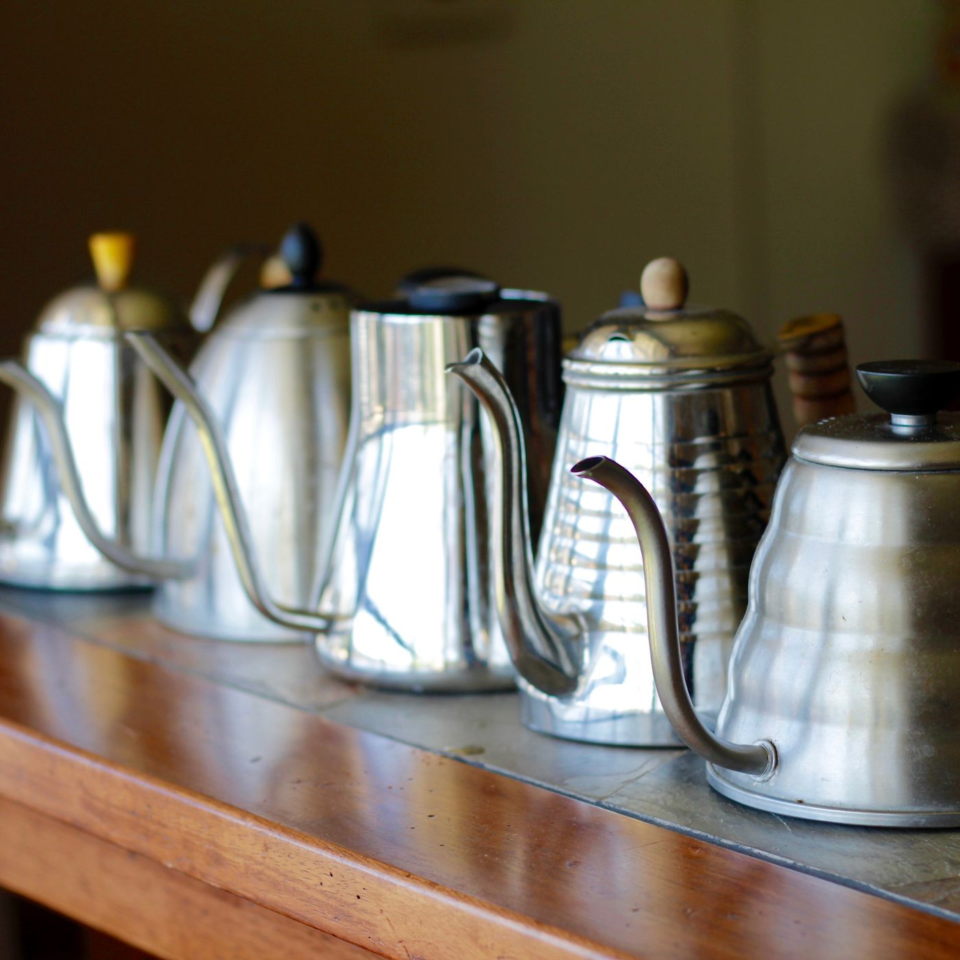 Gadget Review Five Of The Best Coffee Pour Over Kettles Eater
