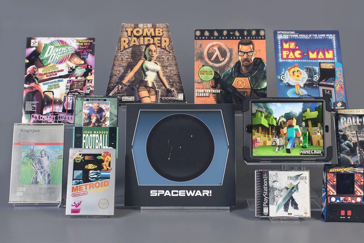 Foyer Console Quest : World video game hall of fame nominees include