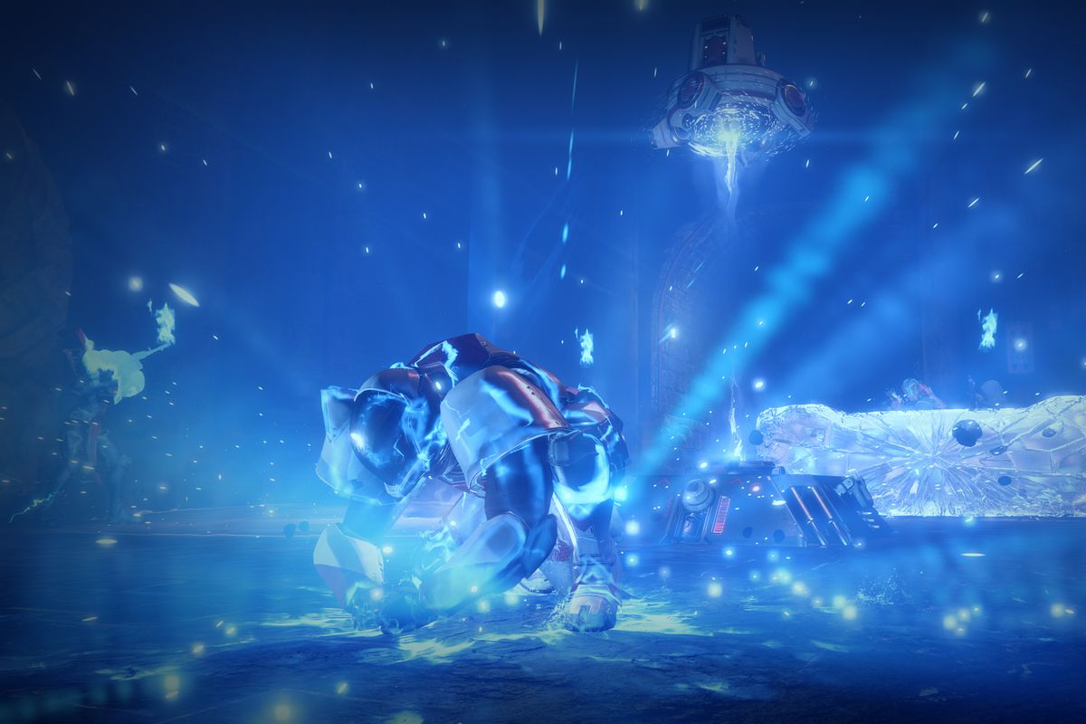 Destiny 2 - Striker Titan using Fists of Havoc